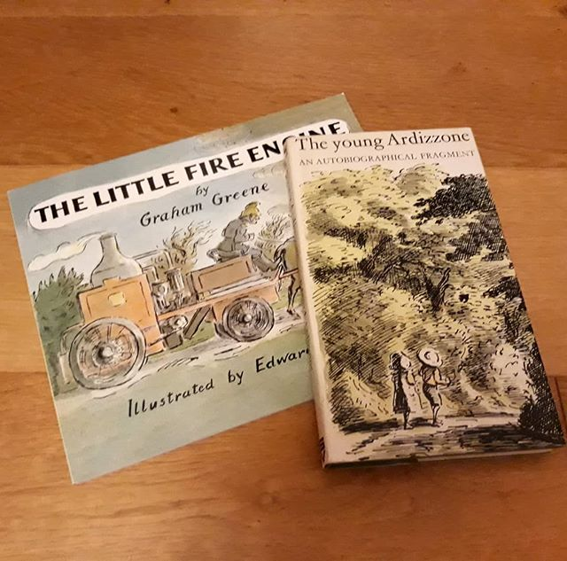 Ended my January book-buying-fast in style today with these two great additions to my #EdwardArdizzone collection. Thank you, @booksandink! 😊📚