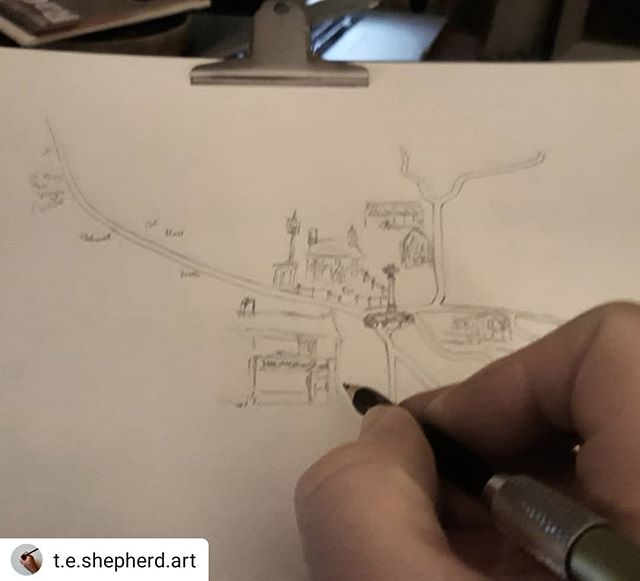 I'll be there again talking about my stories and how music influences them… #Repost @t.e.shepherd.art • • • • • In my new appointment as Official Festival Illustrator, my first task is to make a map for this year's #HULitFest. Now in its fifth year the all free festival on 27 April has got so big it now needs a map. Come along and join the fun… #illustration #amillustrating #maps