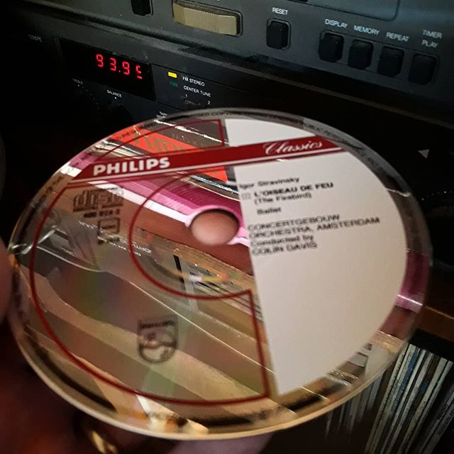 iPods are too easy. I don't play my CDs enough... #TheFirebird #stravinsky #cdcollection #CDs #iknowpuristswouldargueforvinyl