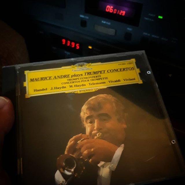 Listening to #MauriceAndré playing Handel's Trumpet Concertos (albeit on CD not over-played cassette) still evokes 35 year old memories of reading Arthur Ransomes Missee Lee and still inspires me creatively. ••• What music and listening format still brings back those first memories for you?  #music #inspiration #creativity #iwasnotacoolkid