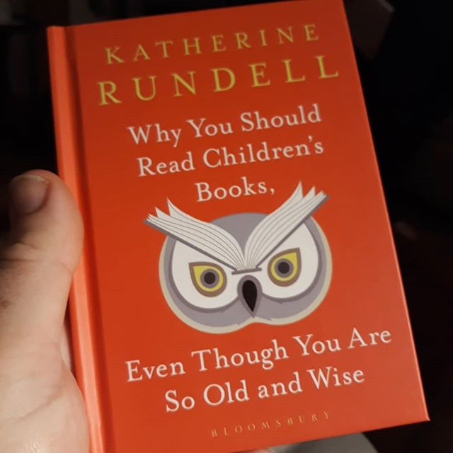 This is a great little book of mini-essays. The title says it all really. Basically read children's books, and if you don't believe me read this book, and then read some children's books… @katherine.rundell #WhyYouShouldReadChildrensBooks #evenThoughYoyAreSoOldandWise #amreading