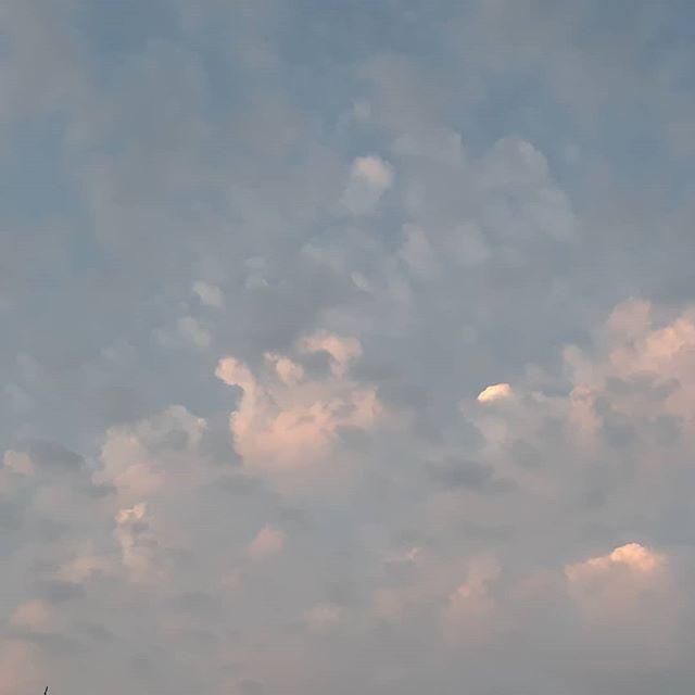 Summer sky #nofilter