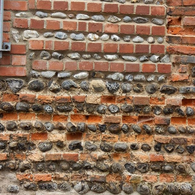 More Norfolk textures... #walls #doors #brick #flint #ruins #textures