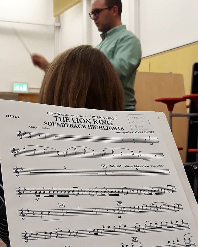 Remember, remember, you must never, feed a penguin marijuana. Never feed a penguin marijuana... #CircleOfLife #TheLionKing @abingdonconcertband