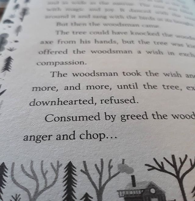 There are always woodsmen in good fairytales and legends… #TheGirlWhoSpeaksBear #amreading #fairytales @sophieandersonauthor