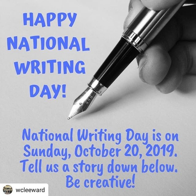 #Repost @wcleeward • • • • • National Writing Day is this Sunday! Tell us a story down below. We'd love to hear your crazy and fantastic stories! 👨‍💻📚👩‍💻 #Nationalwritingday #leewardcc