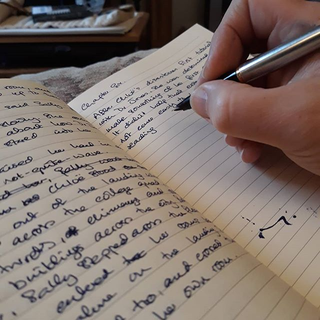 Just like Chloë, writing essays never came easily to me. I love research, and pouring out pages of creative story, but essays... I really struggle we with them.  What are you writing on #NationalWritingDay?  #amwriting #ImaginaryFriends #MrTumnal #TheNovel