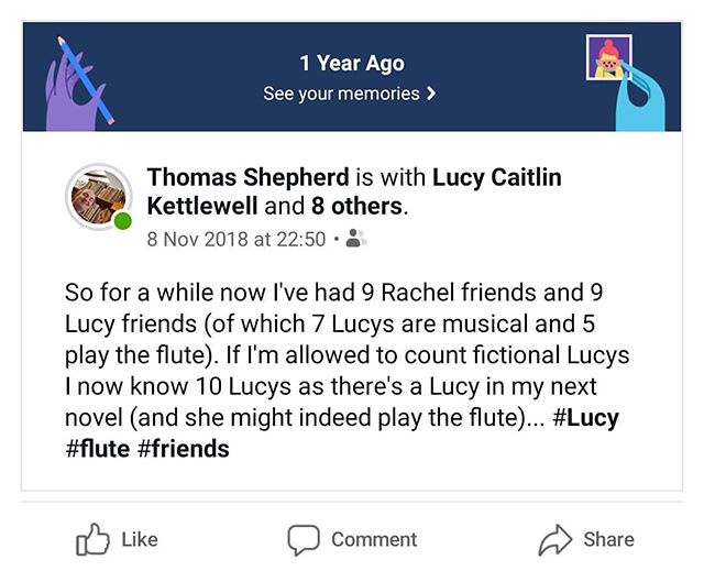 Why are all Lucy's both always musical and such brilliant friends? #Lucys #musical #friends