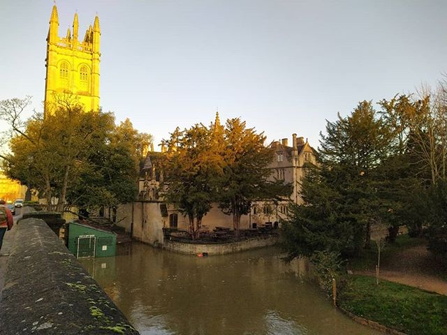A river runs through it… #Oxford #Cherwell
