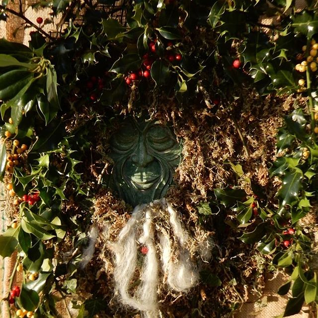 The Holly and the Ivy... When you go carolling and wassailing into the twelve days of Christmas.