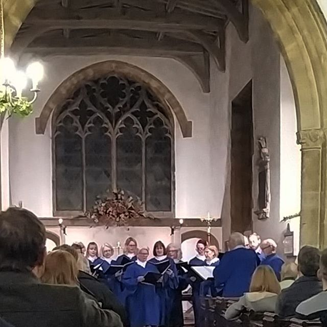 The Festival of nine Lessons and Carols in a tiny village church on the chortestvday… #Souldern #midwinter #solstice #advent #christmas🎄 #ninelessonsandcarols