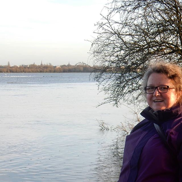 Enjoying the winter sun… #winter #WinterWalks #PortMeadow #Oxford #OxfordOnSea