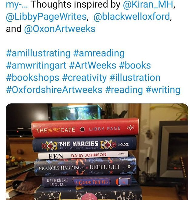 My artistic life http://shepline.com/2020/02/09/my-artistic-life/ Thoughts inspired by @kiran_mh, @libbypagewrites, @blackwelloxford, and @oxfordshireartweeks • • • #amillustrating #amreading #amwritingart #ArtWeeks #books #bookshops #creativity #illustration #OxfordshireArtweeks #reading #writing