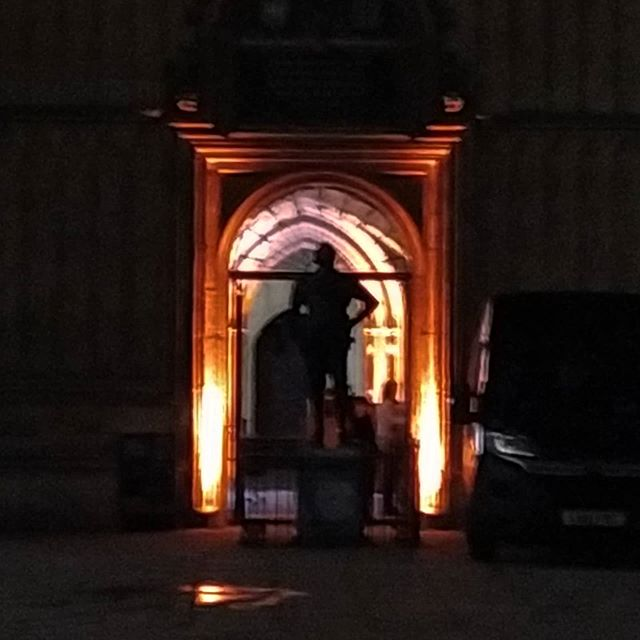 Spooky goings on in the @bodleianlibs tonight...