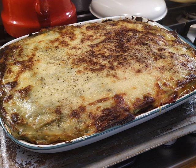 Genesis of a delicious meal… #lasagna #allhomemade #AubergineLasagna #aubergines🍆
