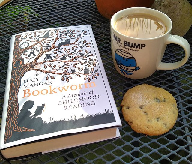 Book. Tea. Biscuit.  Sunday afternoon sorted.