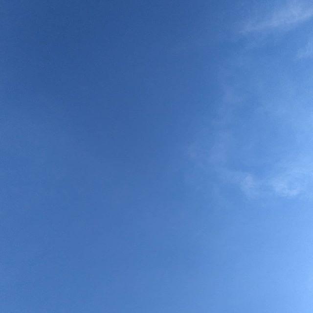Perfect sky… #nofilter #sun🌞