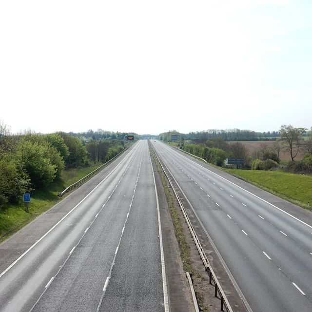 The M40, Easter Sunday, 2020.  #lockdown #coronavirus