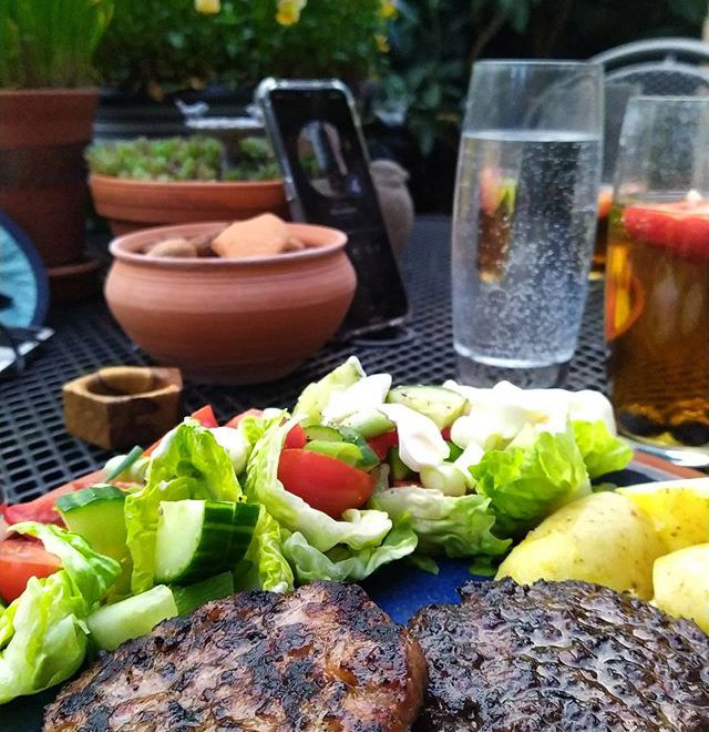 First barbeque of the year… #bbq #alfrescodining