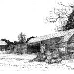 Sawmill, Wytham Woods