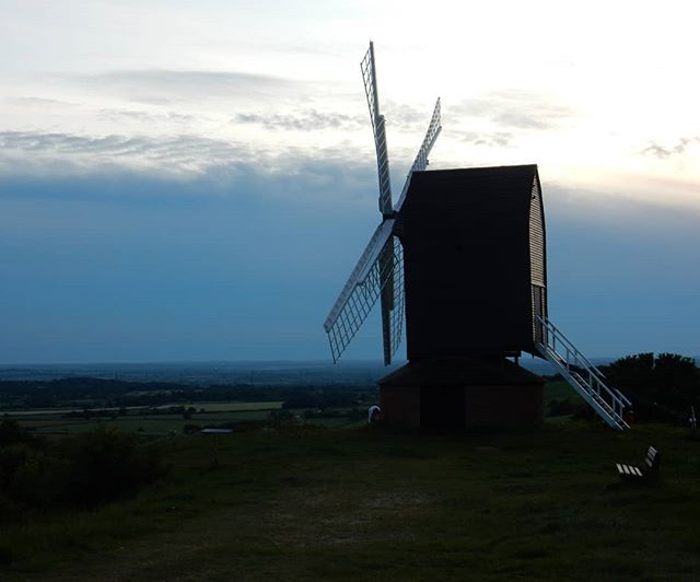Brill windmill on birthday eve...