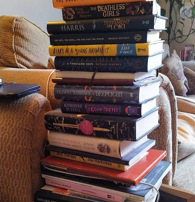 My #ToBeRead pile has got out of hand again… 😂🤣📚 #amreading #books