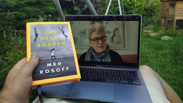 Interview with #MegRosoff for #IndieBookshopWeek, hosted by @aldeburghbookshop and @aldeburghjubileehall_ . #IndieBookshopWeek